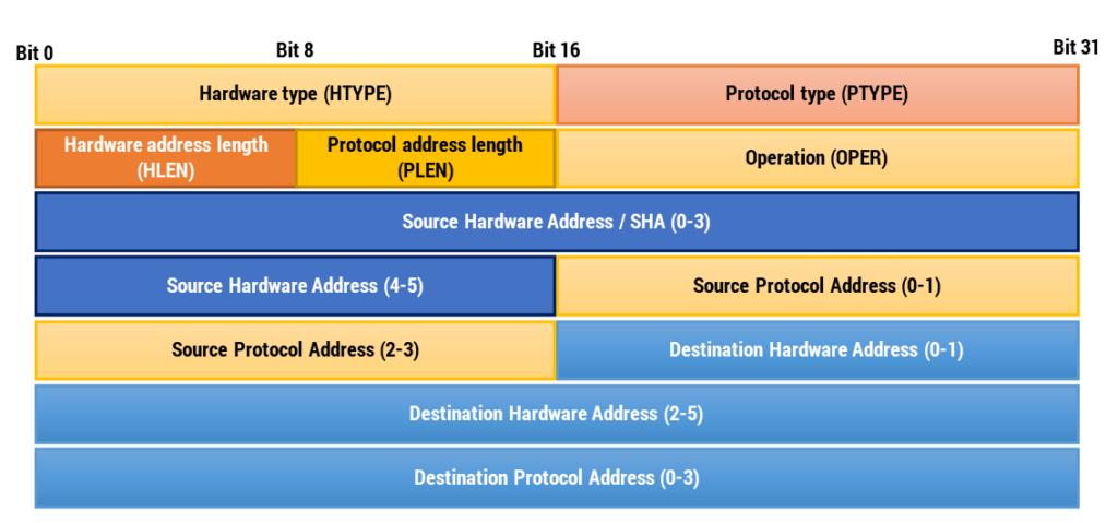 Figura 21: Pacchetto Address Resolution Protocol (ARP)